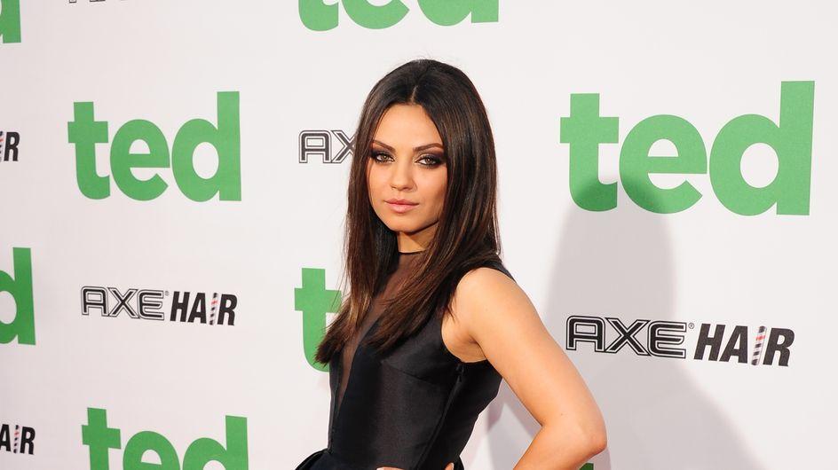 Mila Kunis crée une bague pour sa fille Wyatt