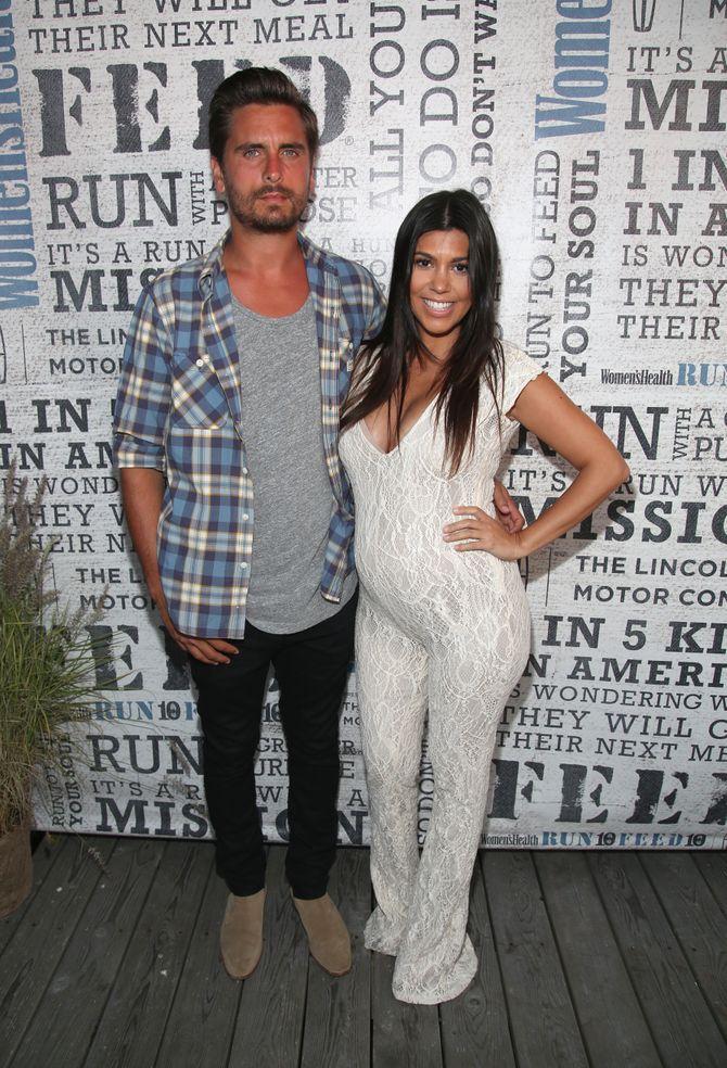 Kourtney Kardashian et Scott Disick