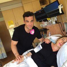 Robbie Williams fait le buzz grâce à l'accouchement de sa femme