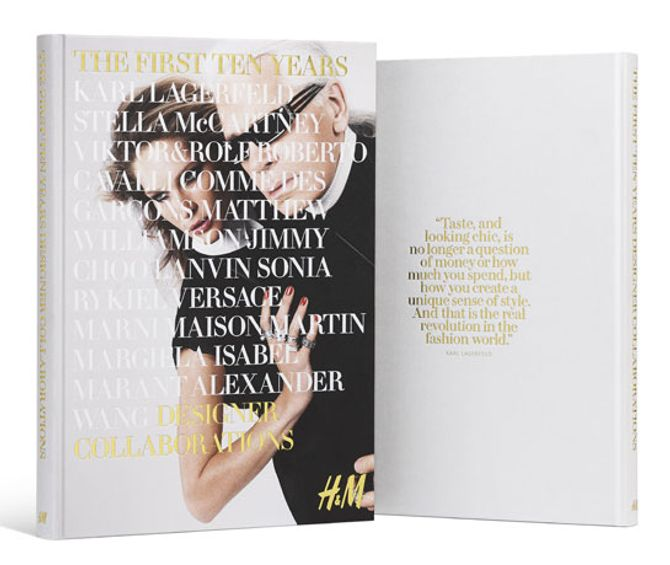 """Le livre collector """"The First Ten Years"""" signé H&M"""