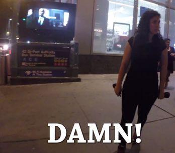 Cosa succede se sei una donna e passeggi da sola per le strade di New York? Puoi
