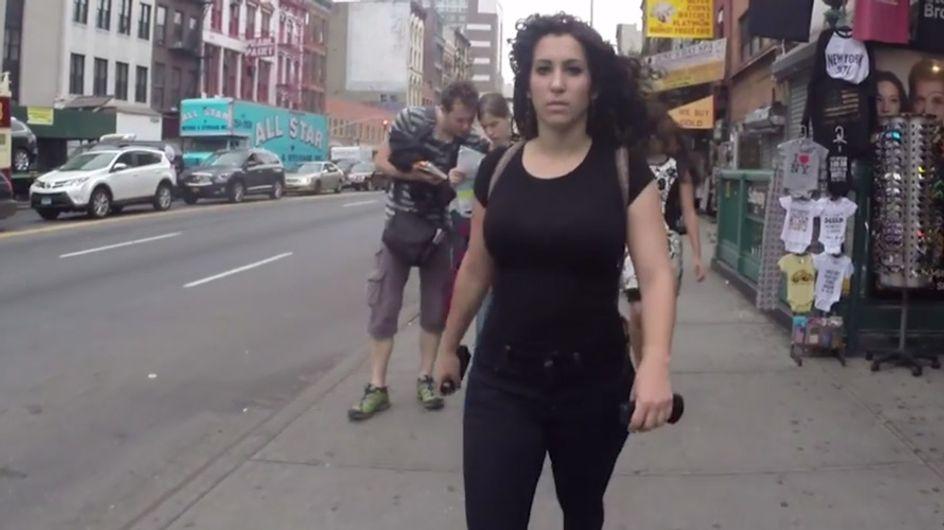 Unfassbar! Versteckte Kamera zeigt: So aggressiv werden Frauen jeden Tag belästigt