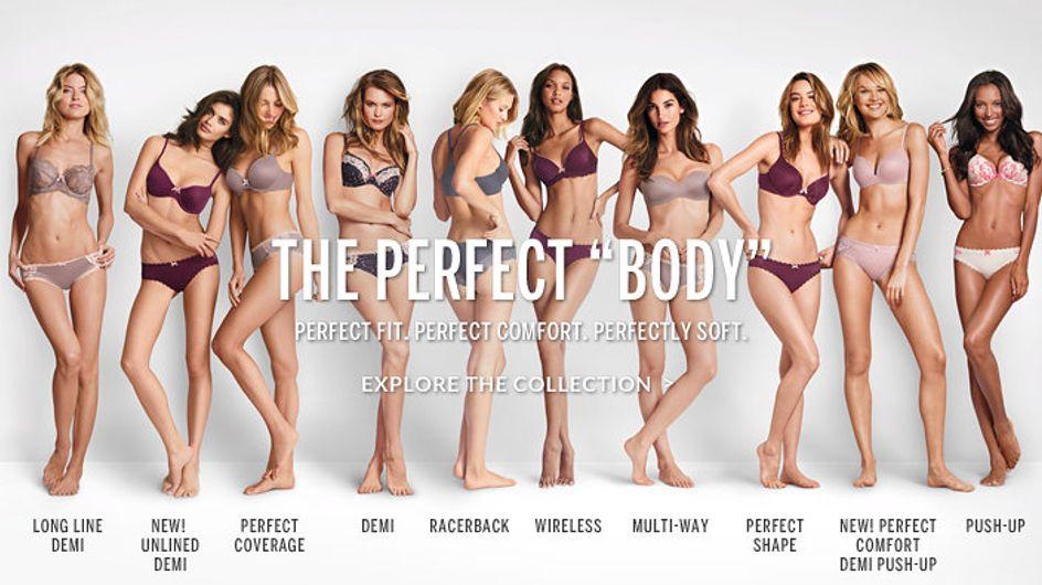Tutte indignate per la pubblicità di Victoria's Secret: così si ribellano le donne contro gli ideali del corpo perfetto