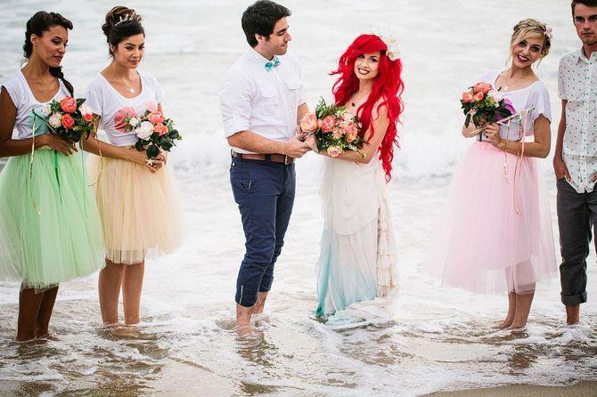 Se transformer en petite sirène le jour de son mariage, c'est possible