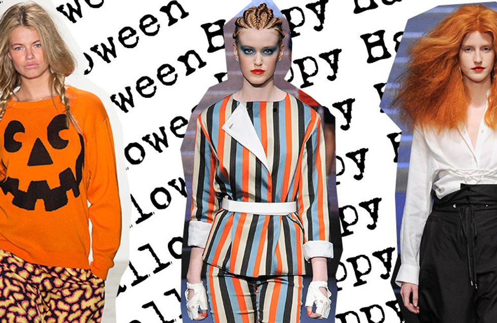 18 costumes d'Halloween tout droit venus de la Fashion Week