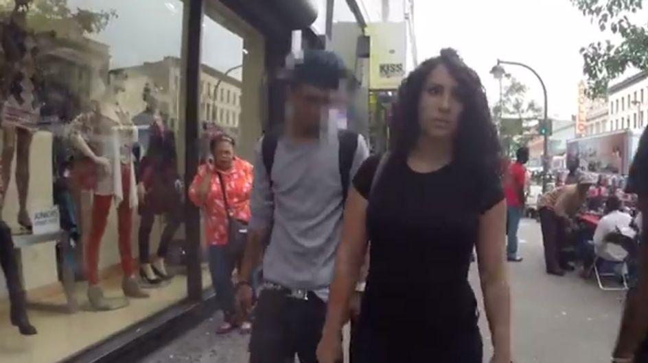 Una mujer se graba caminando por Nueva York para denunciar el acoso callejero