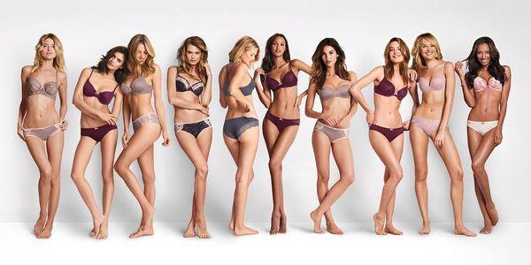 La campaña de Victoria's Secret.
