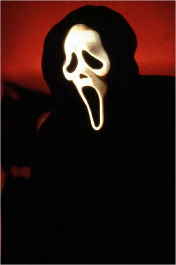 Le personnage Scream.
