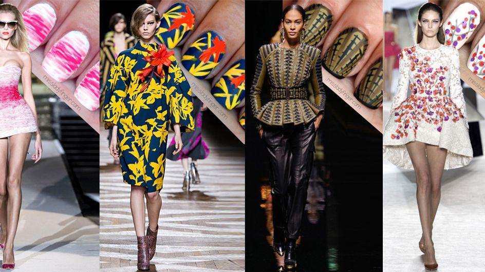 Mix&Match: quando manicure fa rima con outfit. Le nail art che si ispirano alle passerelle fashion!