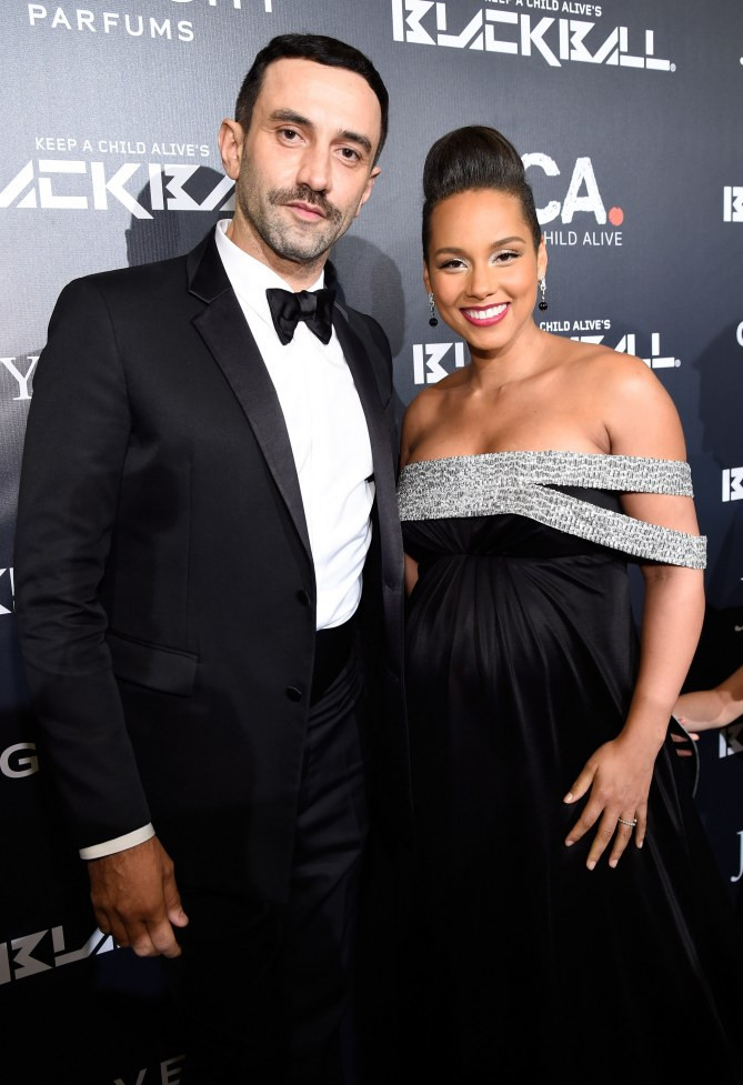 Alicia Keys et Riccardo Tisci.