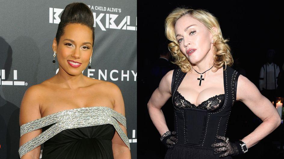 Alicia Keys, Madonna… Défilé de stars au Black Ball 2014 (Photos)