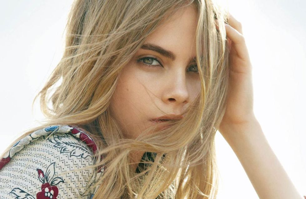 The Cara Delevingne Topshop Christmas Campaign Has Landed