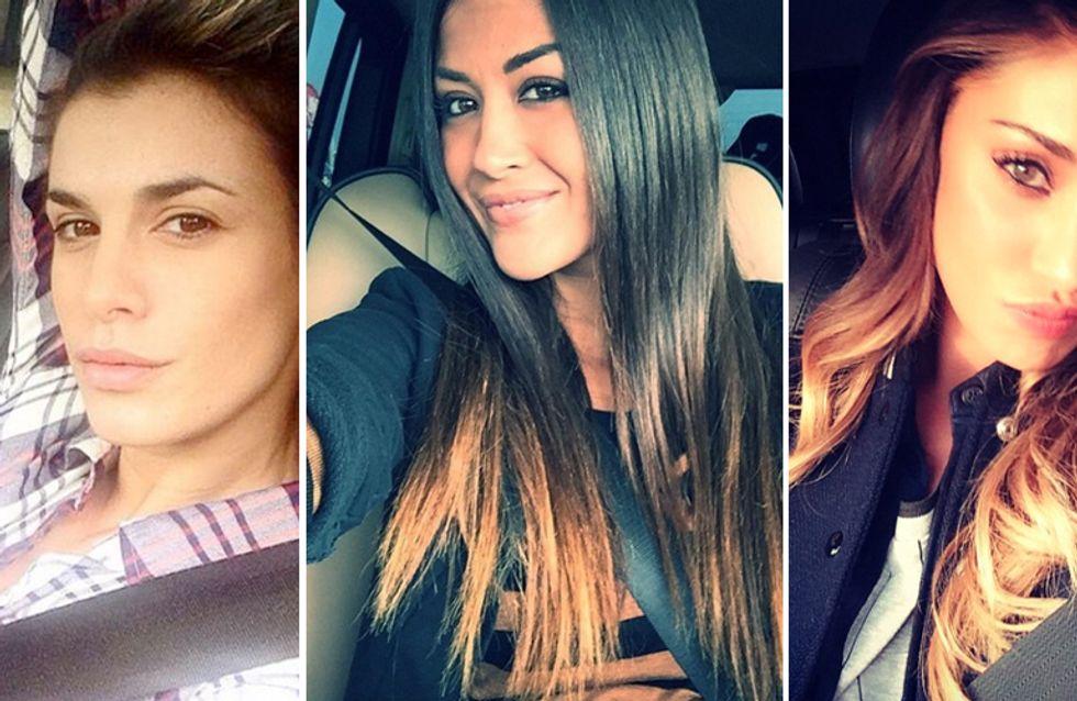 Selfie al volante: la nuova moda delle star. Le foto delle celebrities alla guida!