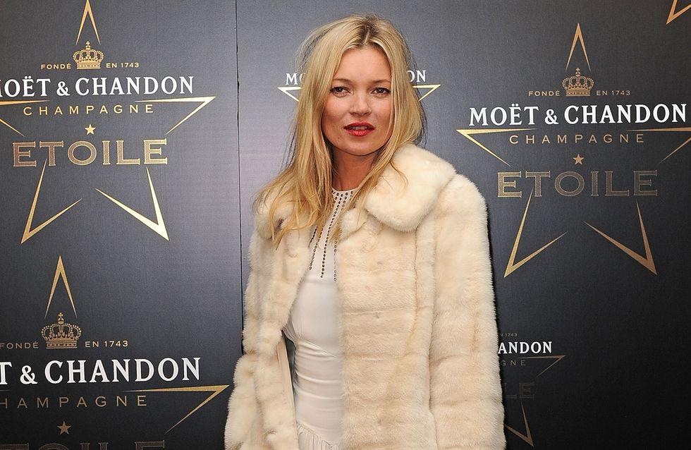Kate Moss se dévoile pour Vogue UK