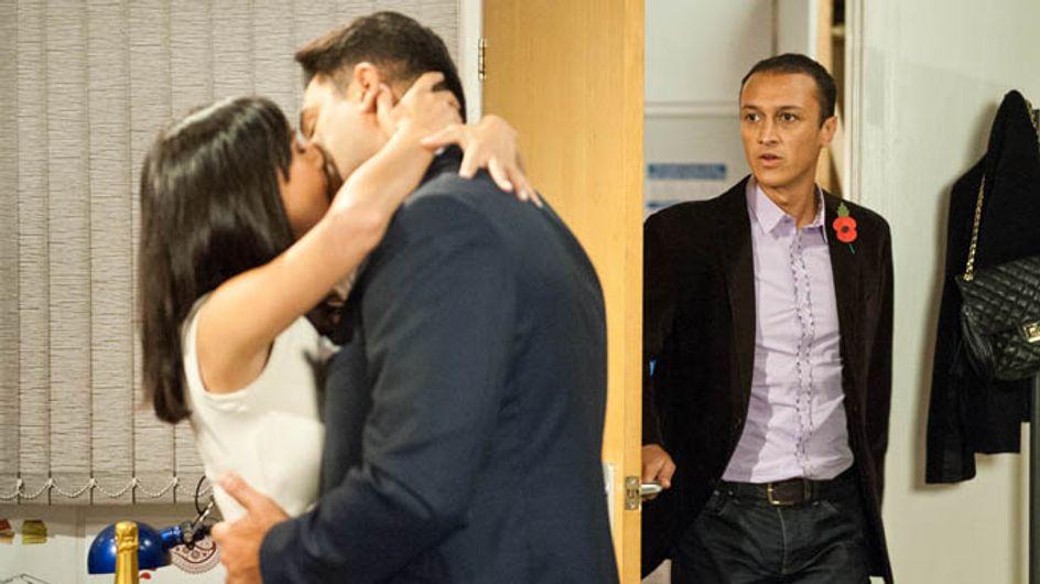 Emmerdale 12/11 – Priya and Rakesh out their relationship