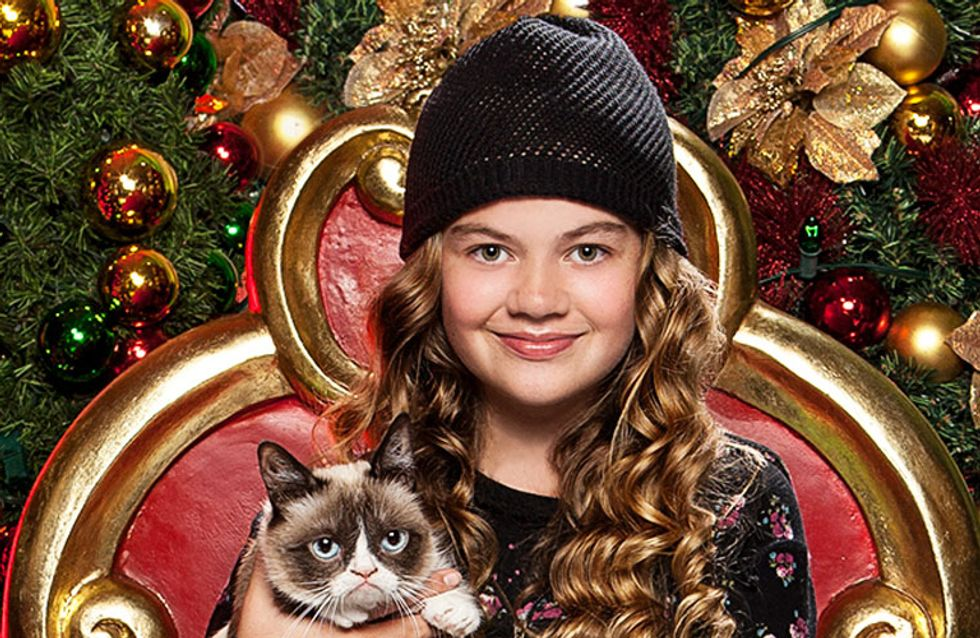 The Grumpy Cat Christmas Movie You Didn't Know You Wanted