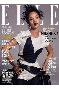 La couverture de Rihanna pour ELLE US