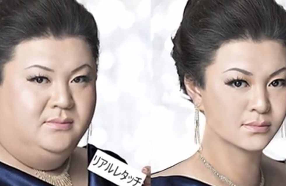 Unglaublich: Diese beiden Fotos zeigen die gleiche Frau!