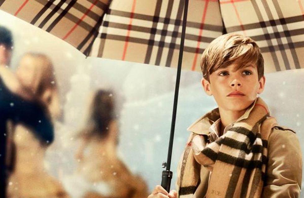 Romeo Beckham, adorable chérubin pour Burberry (Photos et vidéo)