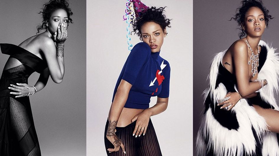 RIHvember: Rihanna STUNS In New ELLE Spread & Returns To Instagram