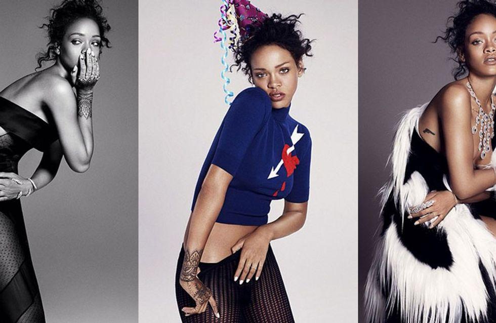 RIHvember: Rihanna STUNS In New ELLE Spread & Returns To Instagram