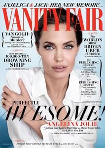 angelina Jolie en couverture de Vanity Fair