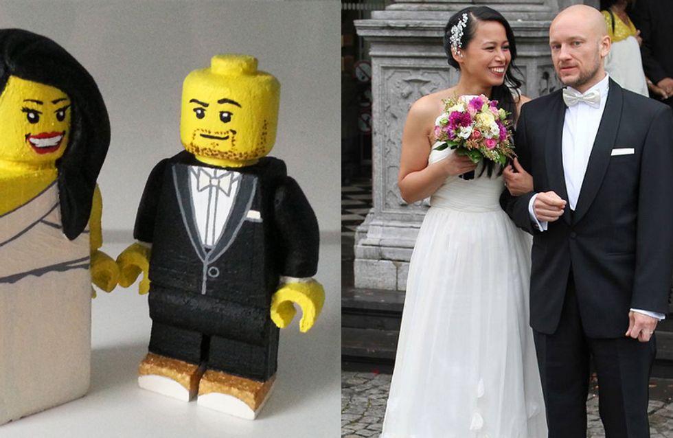 Diese Braut bekommt von ihrem Mann das süßeste Hochzeitsgeschenk, das wir jemals gesehen haben!