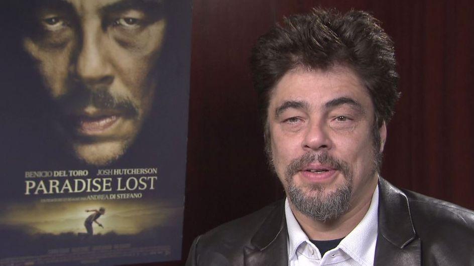 """Benicio del Toro (Paradise Lost) : """"C'est plus intéressant de jouer le rôle d'un méchant"""" (Interview exclu)"""