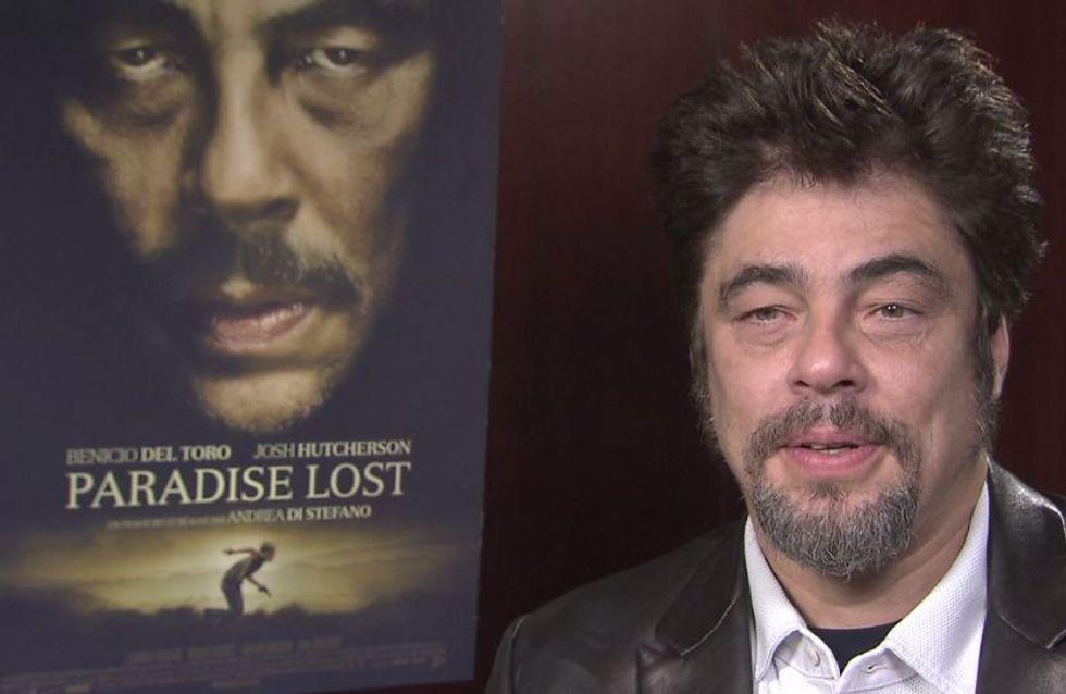 Benicio del Toro (Paradise Lost) : C'est plus intéressant de jouer le rôle d'un méchant (Interview exclu)
