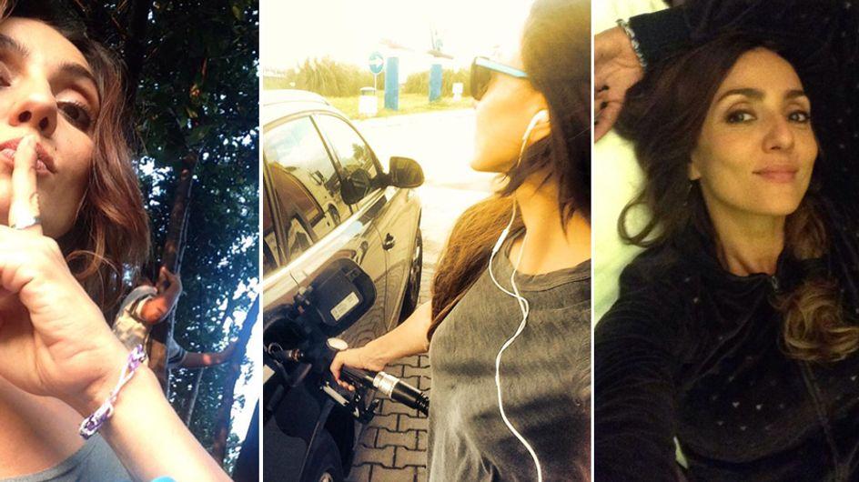Anche Ambra diventa social! Le immagini dell'attrice su Facebook