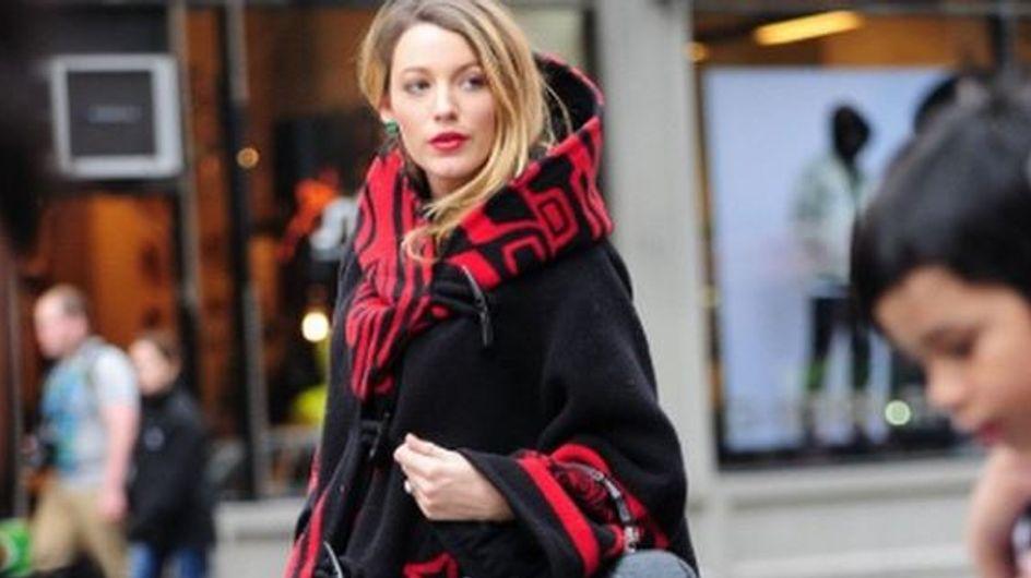 On veut un manteau stylé comme celui de Blake Lively
