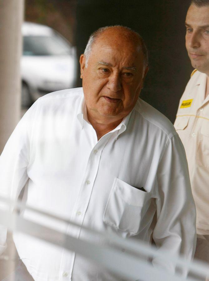 1. Amancio Ortega (Fundador de Inditex), con 46.000 millones de euros
