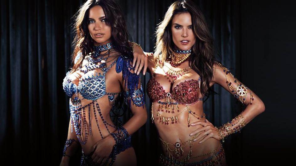 """Victoria's Secret dévoile deux """"Fantasy Bras"""" pour son prochain défilé"""