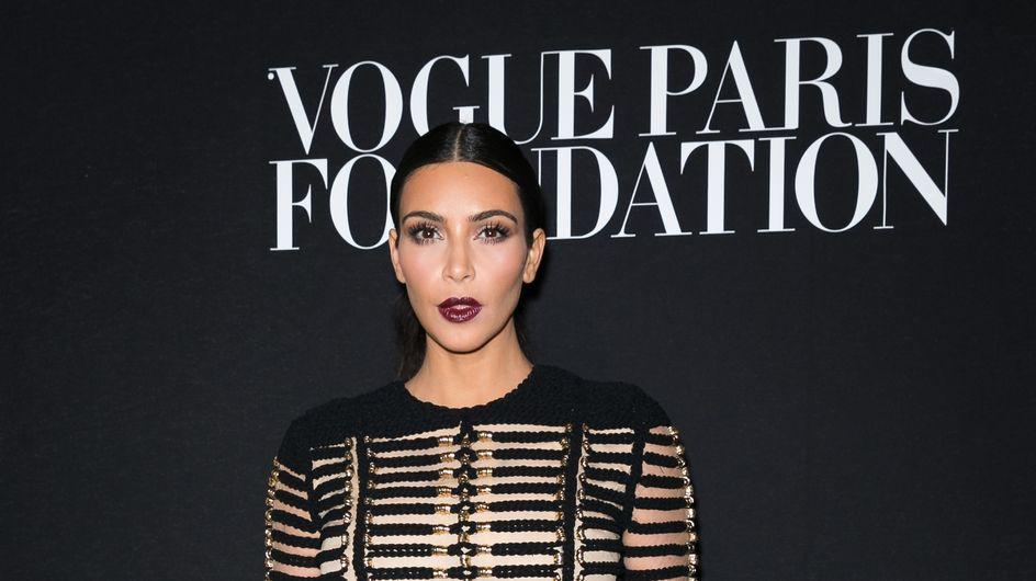 Kim Kardashian, méconnaissable avec ses sourcils décolorés (Photos)