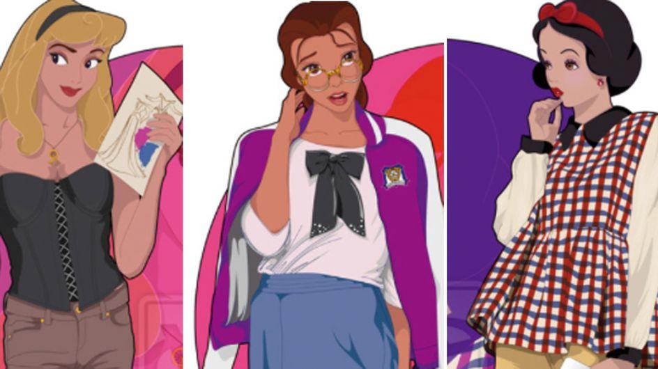 Dai castelli al college. E se le principesse Disney vivessero ai giorni nostri? Ecco come sarebbero!