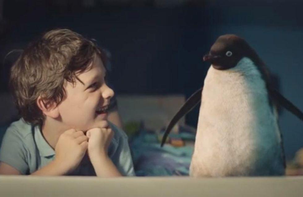 The New John Lewis Advert: Meet Monty The Penguin