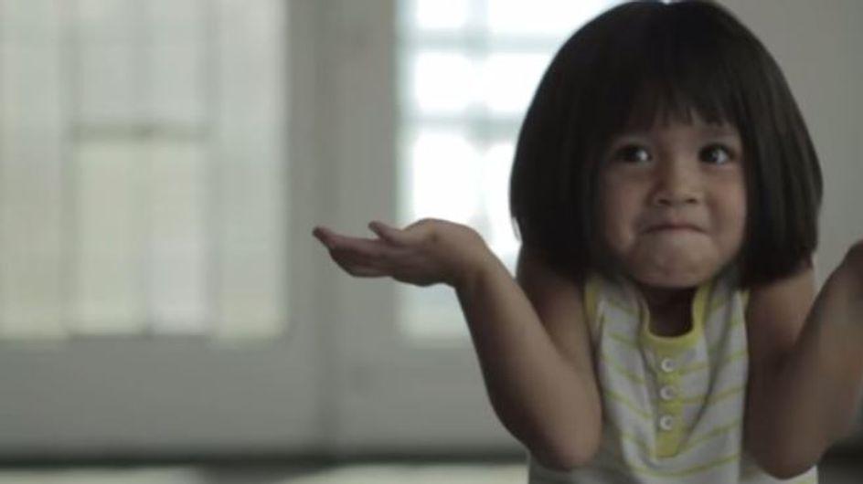 Une vidéo qui prouve que les enfants ont bien moins de complexes que les adultes...