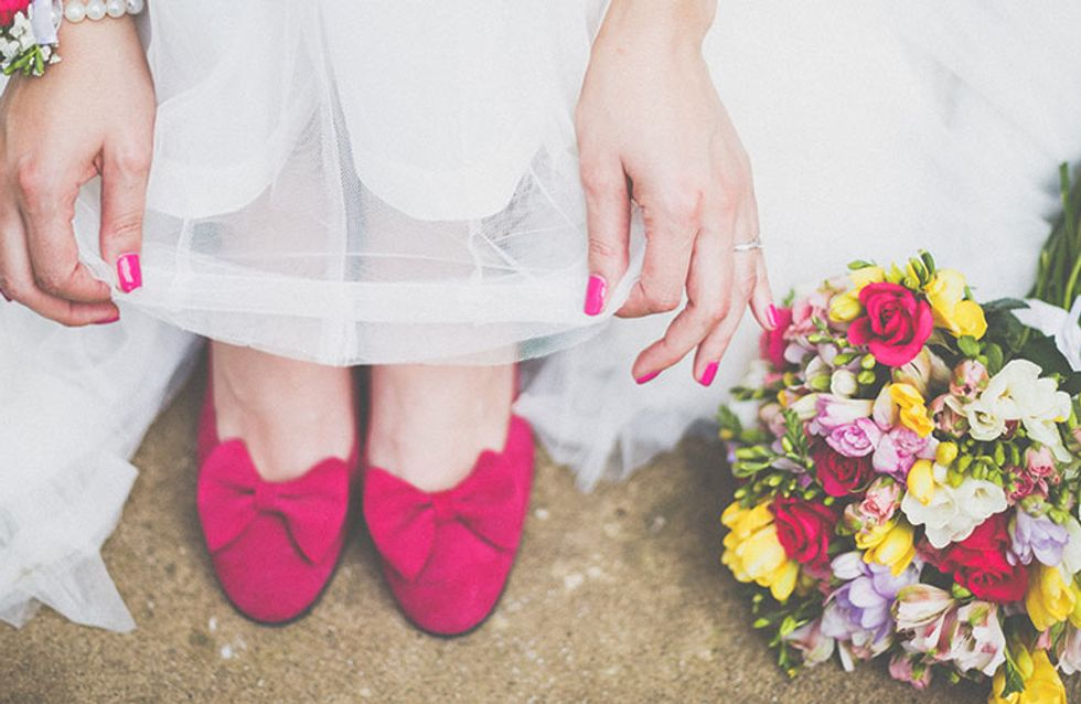 Cool Bridal Ideas! How To Wear Your Nails On Your Wedding Day