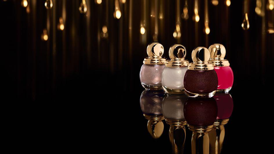 """Dior imagine un maquillage en """"or"""" pour Noël"""