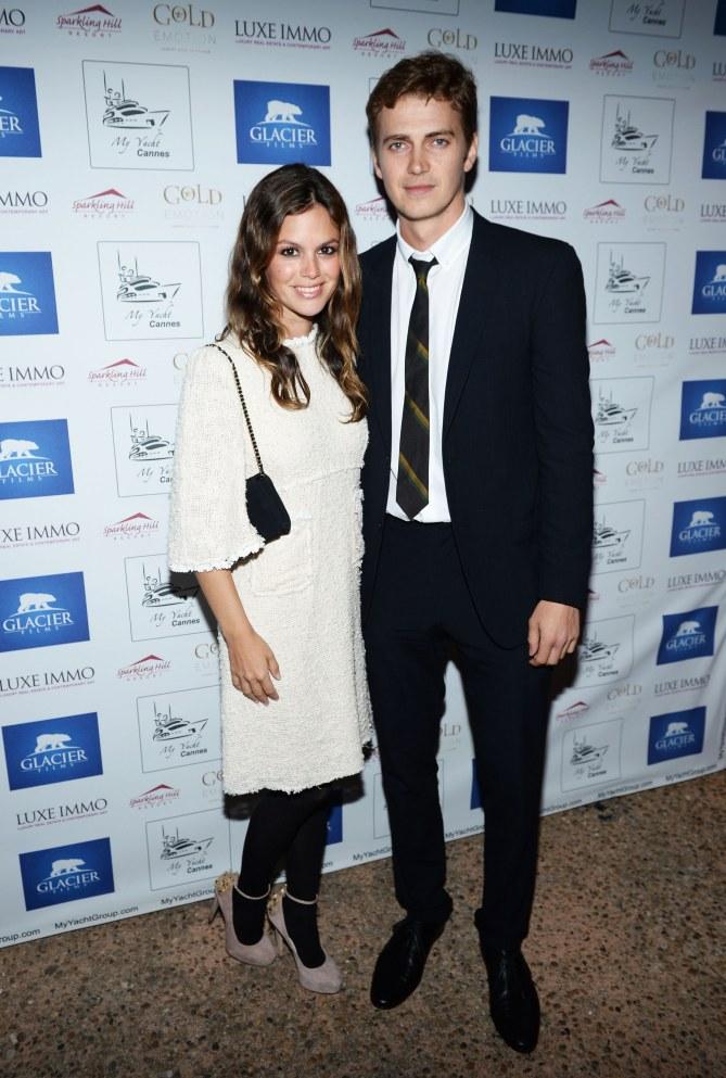 Rachel Bilson et Hayden Christensen.