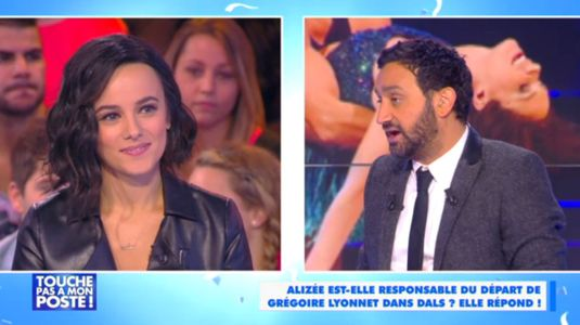 Alizée et Cyril Hanouna