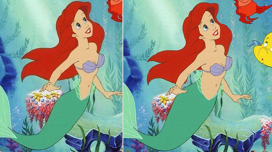 Wow! Disney-Prinzessinnen mit einer realistischen Figur sind fabelhaft!