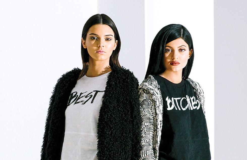 Kendall et Kylie Jenner, amies des loups pour leur nouvelle collection de vêtements (Photos et vidéo)