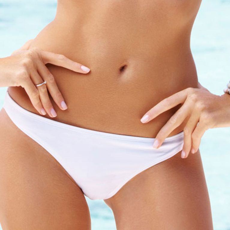 She shaved my bikini line, white angel porno