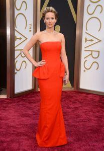Jennifer Lawrence en los Oscar 2014
