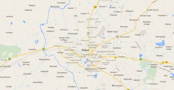 Raipur en Inde