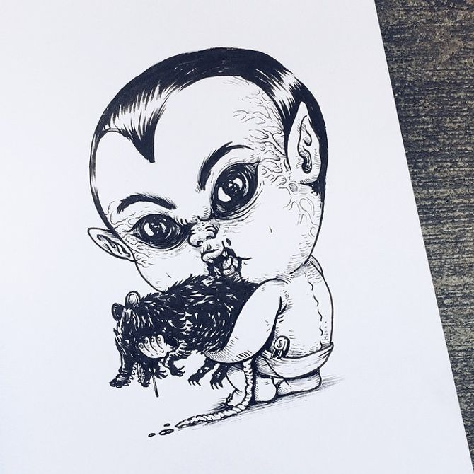 Baby Dracula