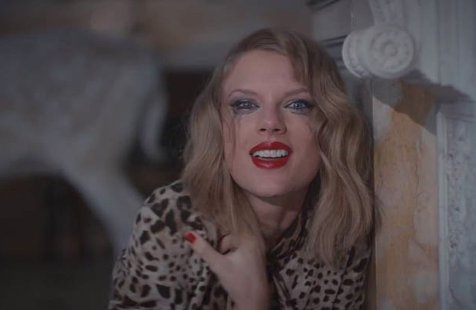 12 Times Taylor Swift Was Freaking Terrifying In Music Video For Blank Space
