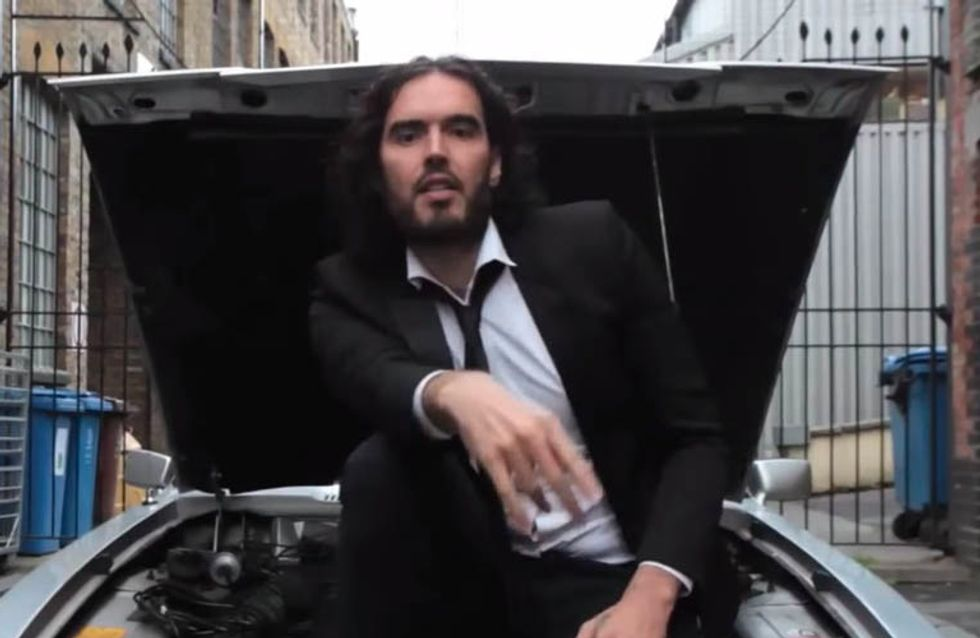 Russell Brand Responds To 'Parklife' Internet Joke