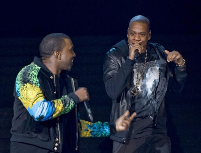 Kanye West und Jay Z